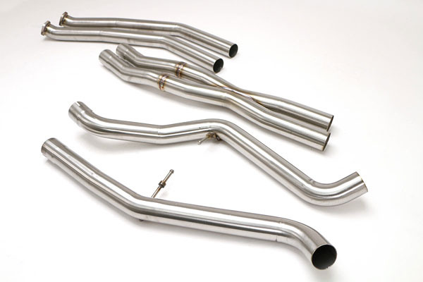 B&B Billy Boat Exhaust FBMW-1027 | Billy Boat B&B BMW E-90/ 92/ - 335i TT Center section w/X-pipe (Coupe); 2007-2009
