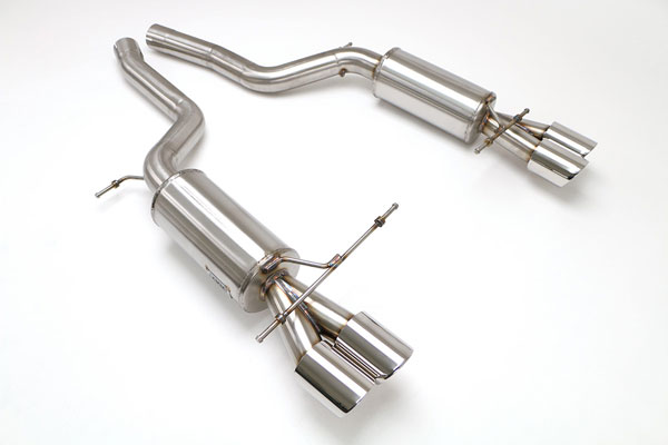 B&B Billy Boat Exhaust FBMW-1110: Billy Boat B&B BMW M5 2006 - 2009 E-60 M5
