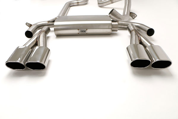 B&B Billy Boat Exhaust FBOD-0120 | B&B Billy Boat Tri-Flo Exhuast (Camaro V8) w/Quad 4.5 Oval Tips; 1998-2002