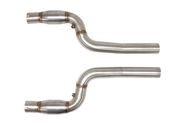 B&B Billy Boat Exhaust FBOD-0765: Billy Boat Camaro 2013 - 2015 SS / ZL-1 / Z28 Front Pipes w/ Cats for B&B Headers