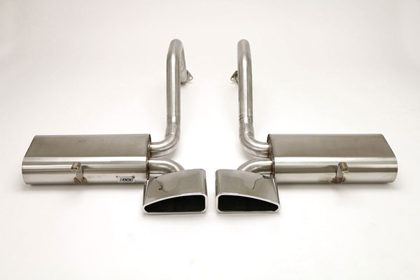 B&B Billy Boat Exhaust FCOR-0235: B&B Route 66 Exhaust System with Speedway Tips Corvette C5 1997-04