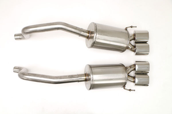 B&B Billy Boat Exhaust FCOR-0520: B&B Corvette C6 2009-13 PRT System Quad Oval 4.5 Tips