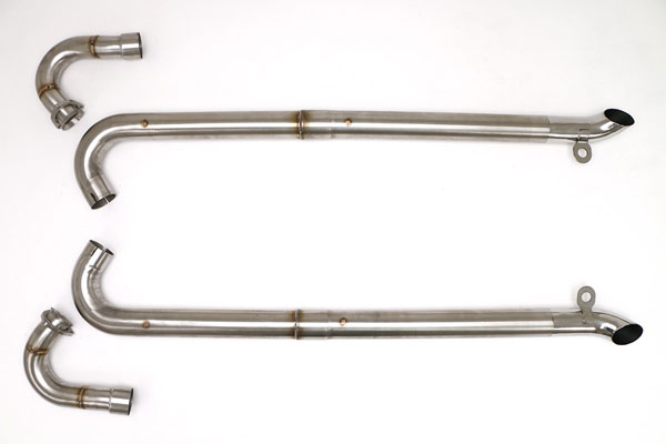 B&B Billy Boat Exhaust FCOR-0590 | B&B Billy Boat Corvette C3 LS Conversion Side Pipes