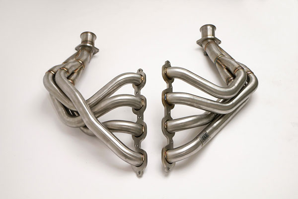 B&B Billy Boat Exhaust FCOR-0655: Billy Boat Corvette C7 long Tube Header 1 7/8 Tri-Y with 3'' collector