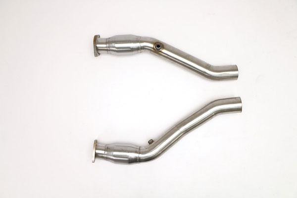 B&B Billy Boat Exhaust FDOM-0313: B&B Billy Boat CTS-V Front Pipes with Cats 2009-14