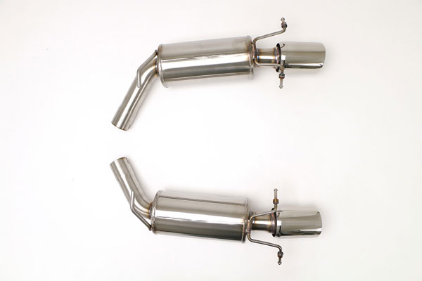 B&B Billy Boat Exhaust FDOM-0322: Billy Boat Cadillac CTS-V Exhaust System 2009 - 2014 BB Rear (Cut/Clamp) 4.25'' Single ROUND Double-Wall Tips