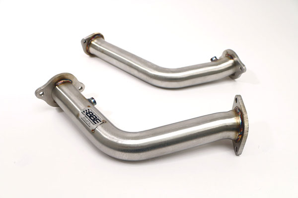 B&B Billy Boat Exhaust FDOM-0335 | B&B Billy Boat Exhaust Billy Boat Cadillac CTS-V Cat Test Pipes, for OE Manifolds; 2009-2014