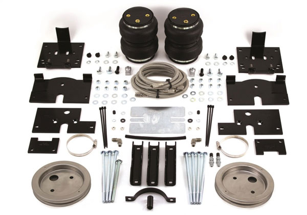Air Lift 89200 | Loadlifter 5000 Ultimate for 04-14 Ford F-150 4wd w/ Stainless Steel Air Lines; 2004-2014