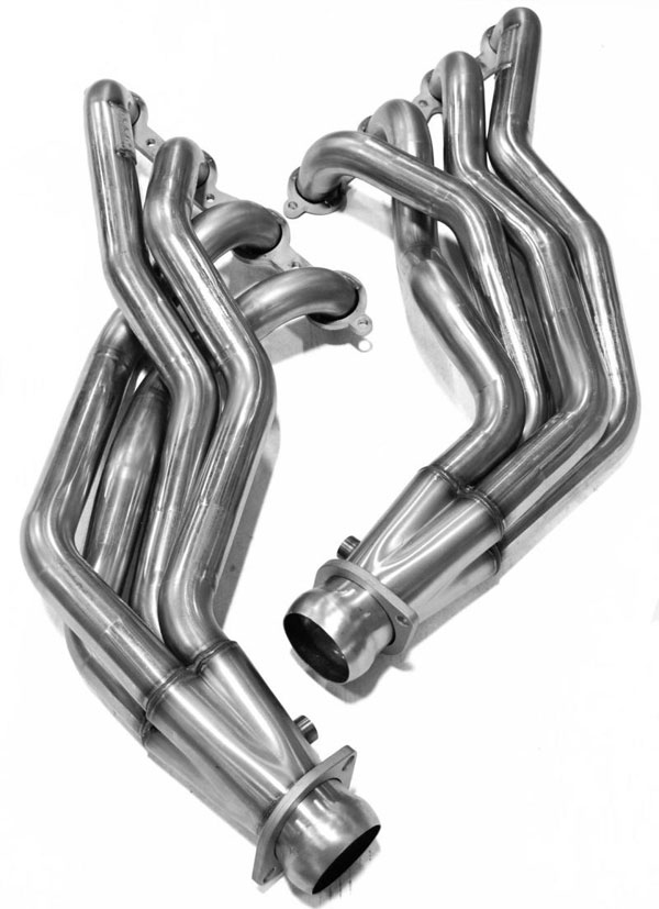 Kooks Headers 2311h630   Kooks 09-15 Cadillac CTS V 2 x 3 Header & Green Catted X-Pipe Kit; 2009-2015