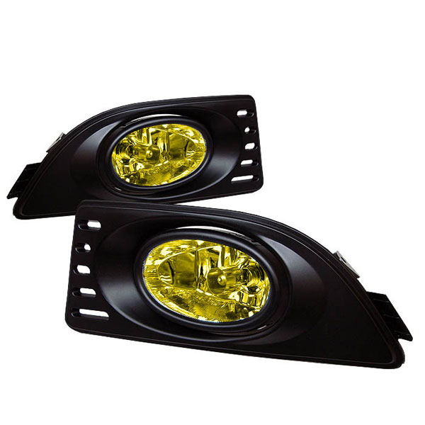 Spyder FL-AR06-Y:  Acura RSX 05-07 OEM Fog Lights - Yellow