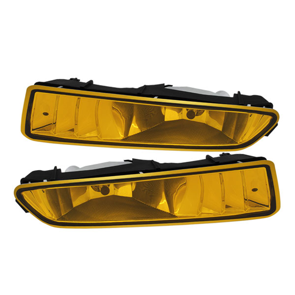 Spyder 5071644 |  Acura TL OEM Fog Lights (no switch) - Yellow - (FL-ATL02-Y); 2002-2003