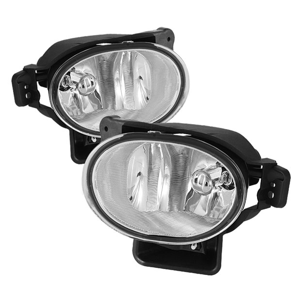 Spyder FL-ATL08-C:  Acura TL 07-08 OEM Fog Lights (no switch) - Clear