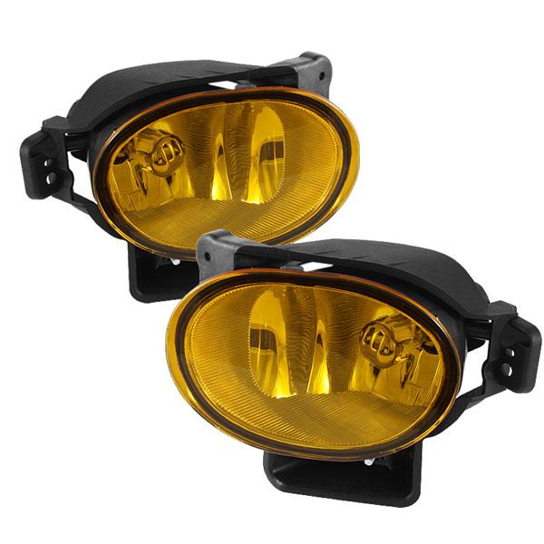 Spyder 5064691 |  Acura TL OEM Fog Lights (no switch) - Yellow - (FL-ATL08-Y); 2007-2008