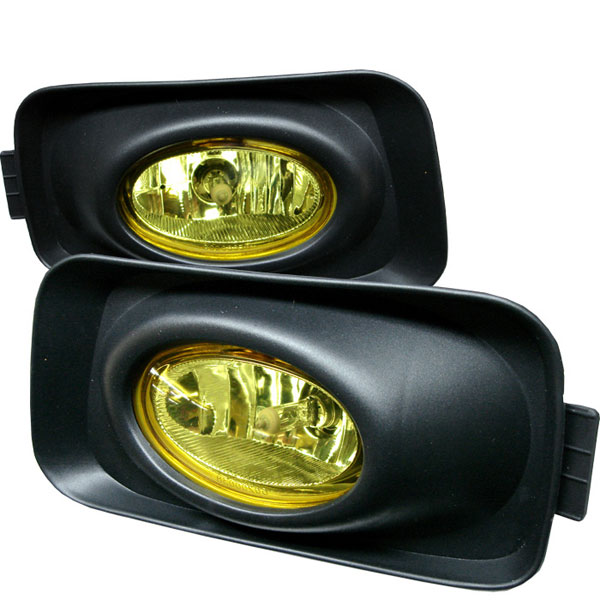 Spyder FL-ATSX03-Y:  Acura TSX 04-05 (Euro Accord) OEM Fog Lights- Yellow