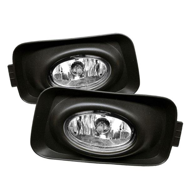 Spyder 5014429 |  Acura TSX (Euro Accord) OEM Fog Lights- Clear - (FL-ATSX03); 2004-2005