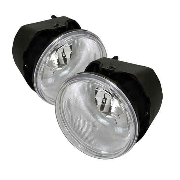 Spyder FL-C300C05-C:  Chrysler 300C 05-08 / 300 05-08 ( W/O Touring & Washer ) OEM Fog Lights - Clear
