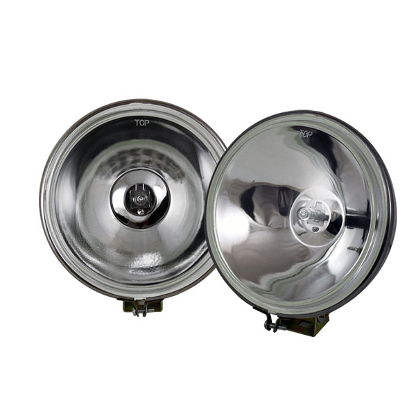 xTune FL-CH-8001C-E:  Universal 4x4 Fog Lights 6 Inch Chrome Housing W/Switch - Euro
