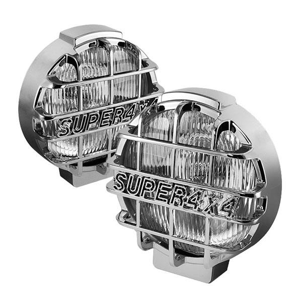 xTune FL-CH-8061BK-E |  Universal Super 4x4 6.5 Inch Black Housing Fog Lights W/Switch - Euro; 2000-2013