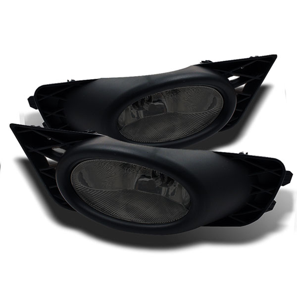 Spyder 5021779:  Honda Civic 09-11 4Dr OEM Fog Lights - Smoke - (FL-CL-HC09-4D-SM)