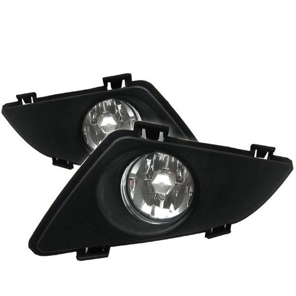 xTune FL-CL-MAZDA6 |  Mazda 6 OEM Fog Lights - Clear; 2003-2006
