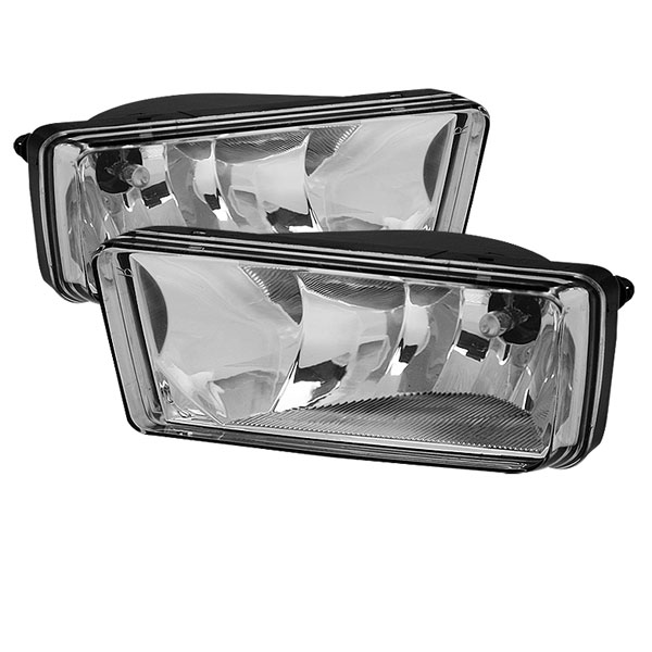 Spyder FL-CSIL07-C:  Chevrolet Suburban 07-11 (w/Off Road Package ) OEM Fog Lights (no switch) - Clear
