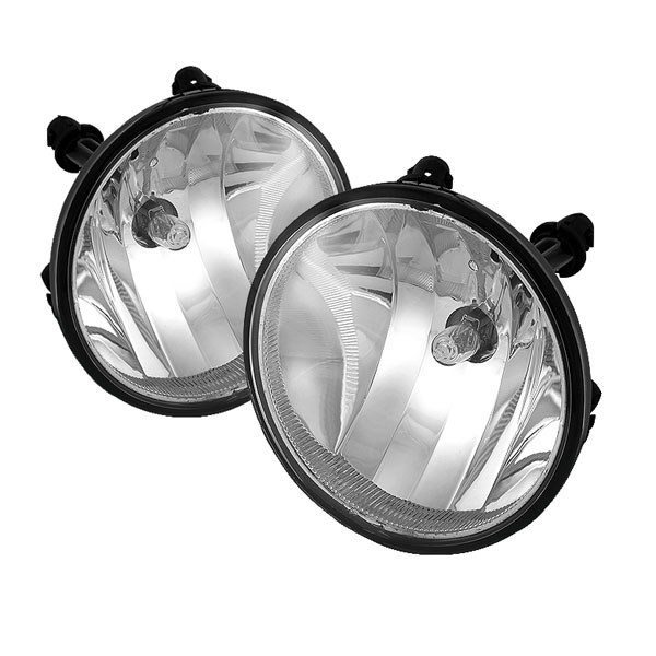 Spyder 5038357:  Ford Escape 07-09 OEM (Not Fit Off-Road Models) Fog Lights (No Switch)- Clear - (FL-CTAH07-C)
