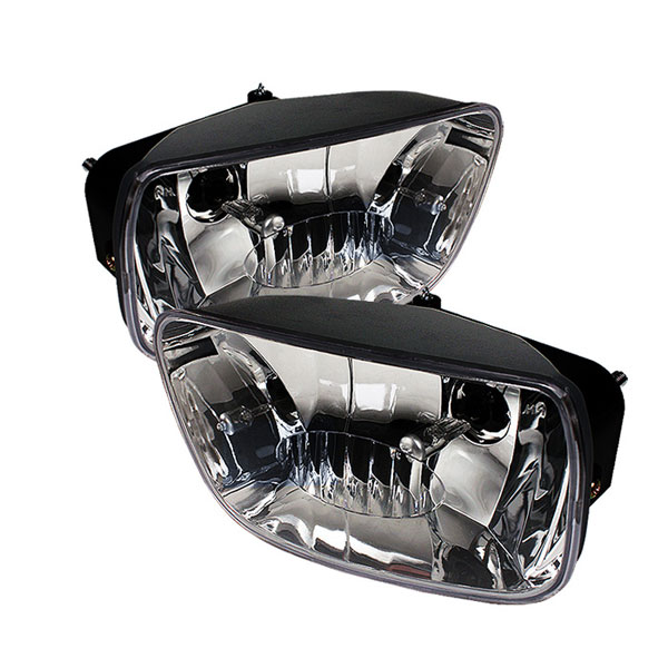 Spyder FL-CTB02-C:  Chevrolet TrailBlazer 02-09 OEM Fog Lights (No Switch) - Clear