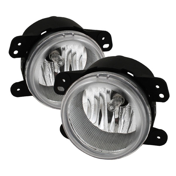 Spyder FL-DM05-C:  Dodge Journey 09-10 OEM Fog Lights - Clear