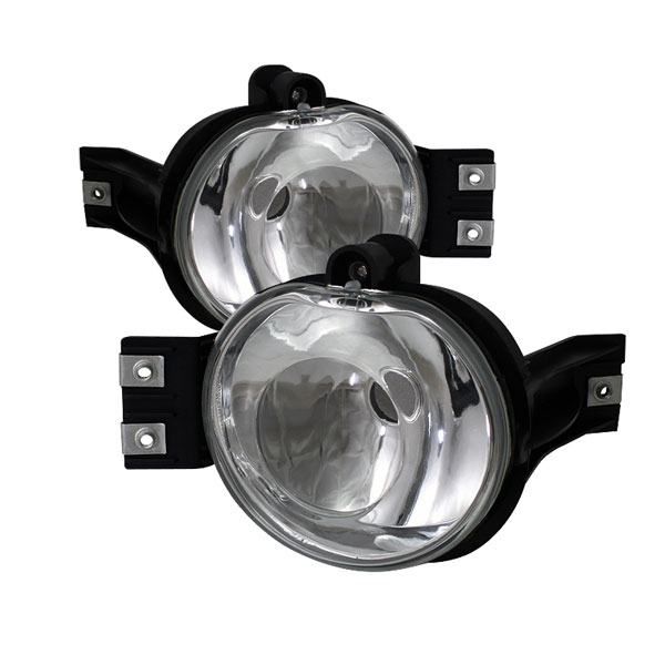 Spyder FL-DR02-E:  Dodge Ram 02-08 Crystal Fog Lights (No Switch) - Euro Clear