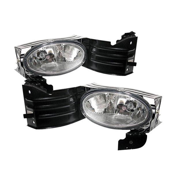Spyder FL-HA08-C:  Honda Accord 08-09 2Dr OEM Fog Lights - Clear