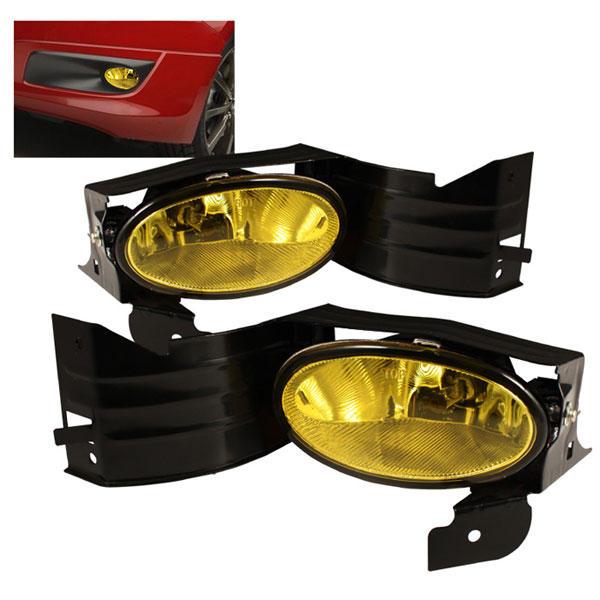 Spyder FL-HA08-Y:  Honda Accord 08-09 2Dr OEM Fog Lights - Yellow
