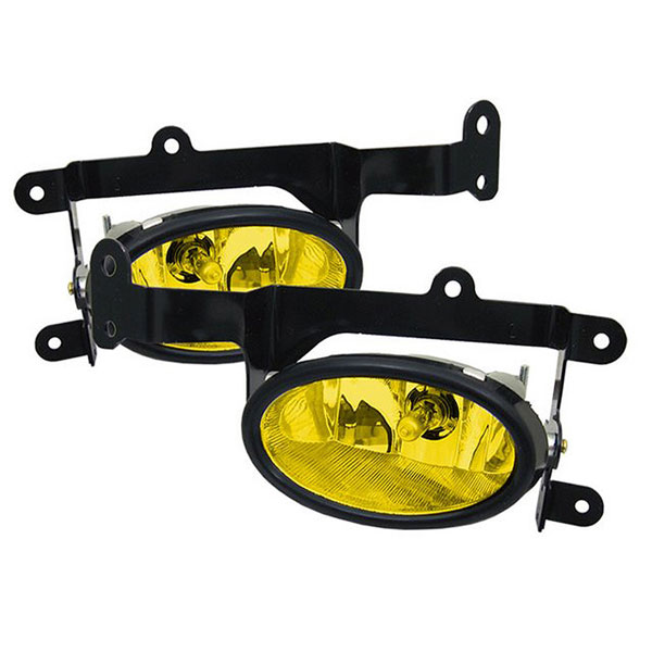 Spyder FL-HC06-2D-Y:  Honda Civic 06-08 2Dr OEM Fog Lights - Yellow