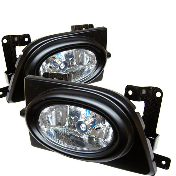 Spyder FL-HC06-4D:  Honda Civic 06-08 4Dr OEM Fog Lights - Clear