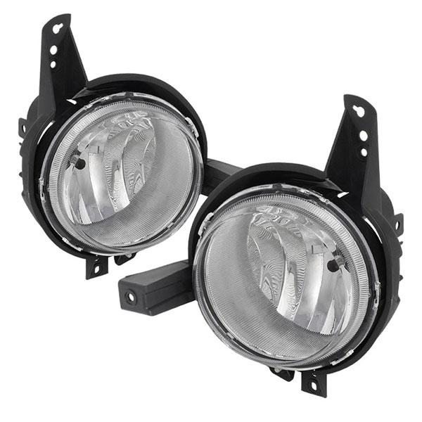 Spyder 5077233    Kia Soul OEM Fog Lights W/Switch- Clear - (FL-KSO2012-C); 2012-2013