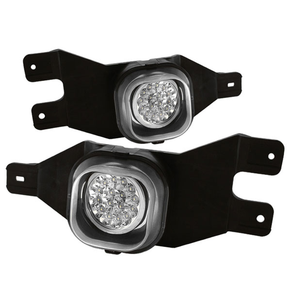 Spyder FL-LED-FF25001-C:  Ford F250/F350 99-04 LED Fog Lights - Clear