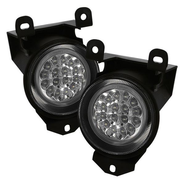 Spyder 5015662:  Pontiac Bonneville SSE SSEI 96-99 LED Fog Lights - Clear - (FL-LED-GD99-C)