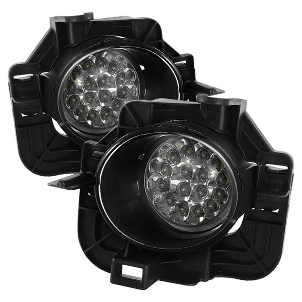 Spyder 5015723:  Nissan Altima 07-09 4Dr LED Fog Lights - Clear - (FL-LED-NA07-4D-C)
