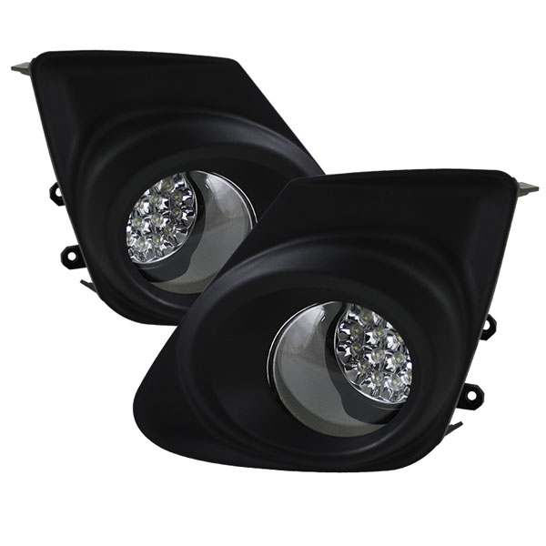 Spyder FL-LED-TCO2011-C:  Toyota Corolla 11-12 LED Fog Lights - Clear