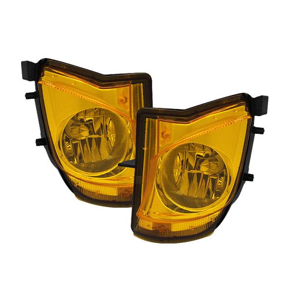 Spyder 5075185    Lexus IS250/IS350 OEM Fog Lights (No Switch) - Yellow - (FL-LIS06-Y); 2006-2009