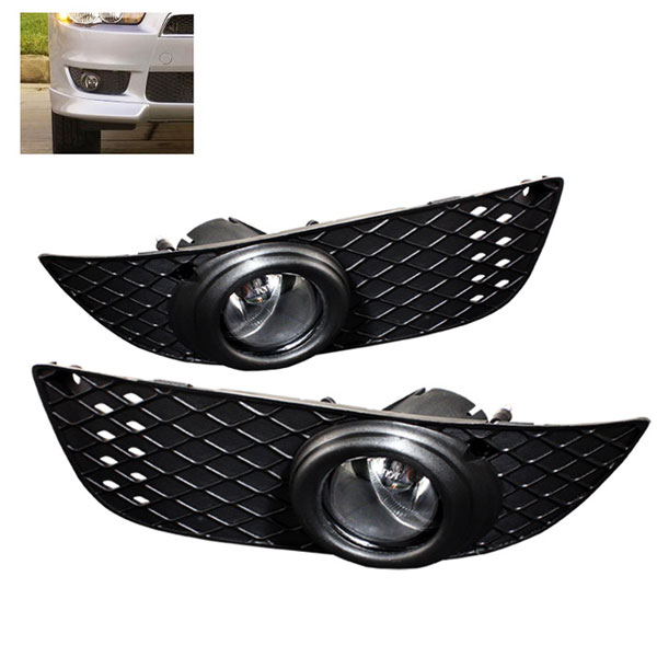 Spyder FL-ML07-C:  Mitsubishi Lancer 07-09 OEM Fog Lights - Clear