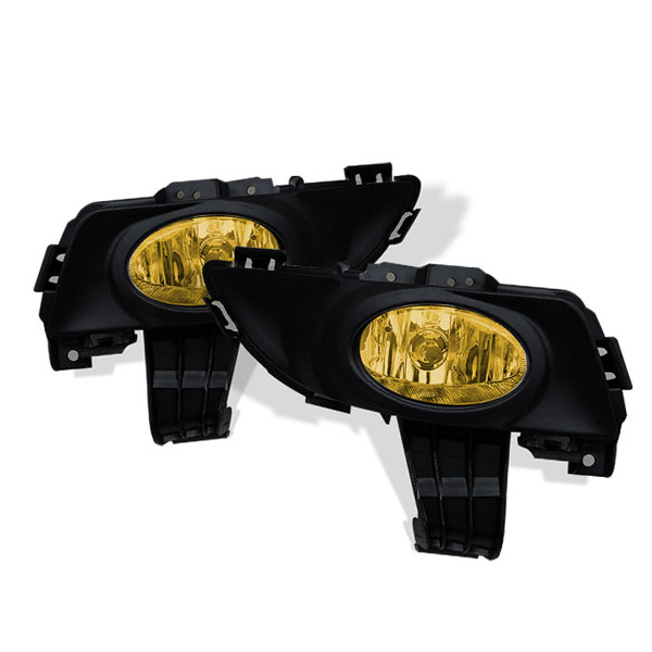 Spyder FL-MM304-Y:  Mazda 3 03-06 4Dr OEM Fog Lights (Don't Fit 5DR And Sport Model) - Yellow