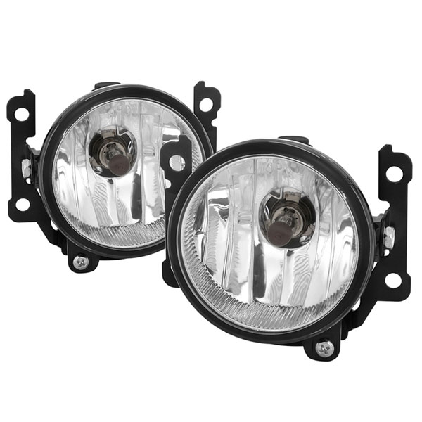 Spyder (5083098)  Mitsubishi Outlander 2016-2017 OEM Style Fog Lights w/Switch- Clear - (FL-MOUT2016-C)