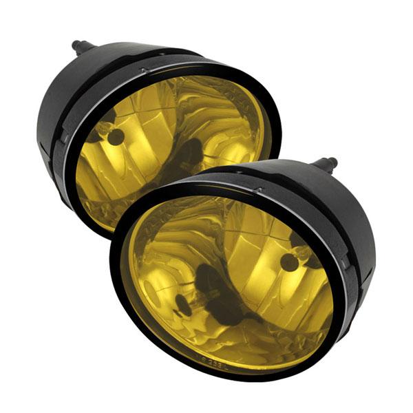 xTune FL-NT04-Y |  Nissan Titan / Nissan Armada OE Style Fog Lights - Yellow; 2004-2012