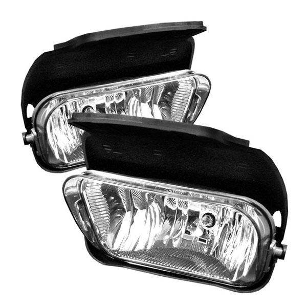 xTune (FL-OEM-CS03-C)  Chevrolet Silverado 03-06 ( W/O Body Cladding ) Fog Lights (No Switch) - Clear