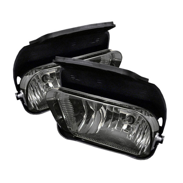 xTune FL-OEM-CS03-SM:  Chevrolet Avalanche 02-06 ( W/O Body Cladding ) OEM Fog Lights (No Switch) - Smoke
