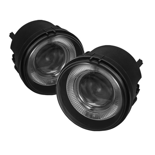 Spyder 5039026:  Dodge Caliber 07-12 Halo Projector Fog Lights - Smoke - (FL-P-DCH05-HL-SM)