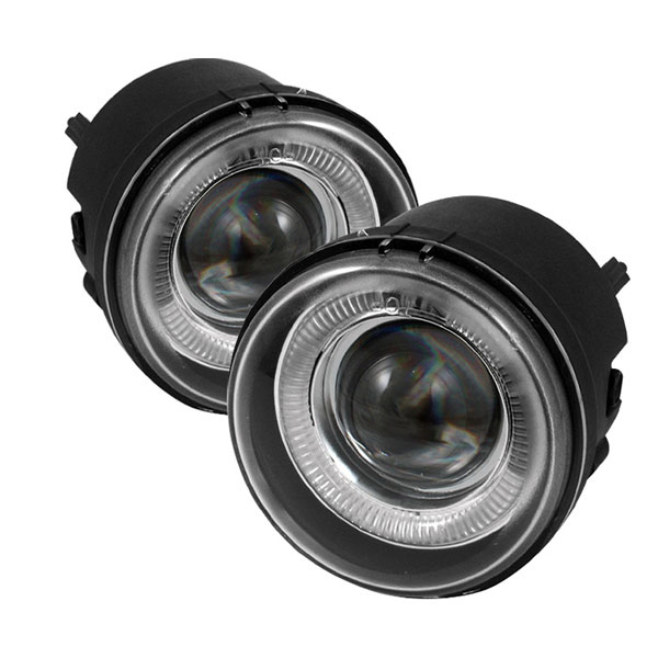 Spyder (5015846)  Dodge Nitro 07-11 Halo Projector Fog Lights - Clear - (FL-P-DCH05-HL)