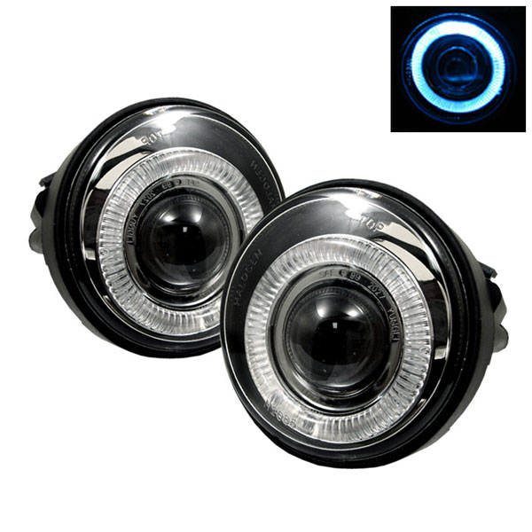 Spyder FL-P-DN03-HL:  Dodge Neon 03-05 Halo Projector Fog Lights - Clear