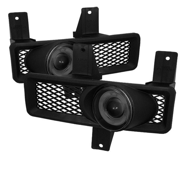 Spyder FL-P-FF15097-HL-SM:  Ford Expedition 97-98 Halo Projector Fog Lights - Smoke