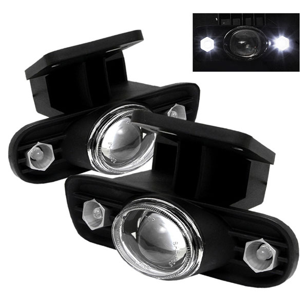 Spyder 5021458:  GMC Yukon 00-06 LED Projector Fog Lights - Clear - (FL-P-GS99-HL)